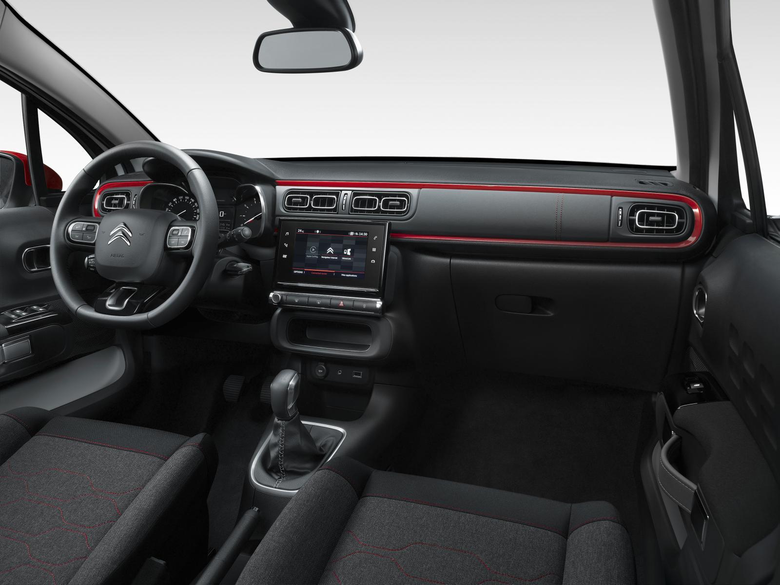 Nouvelle C3 - confort à bord