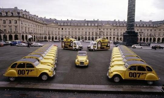 2CV6 série limitée 007 1981