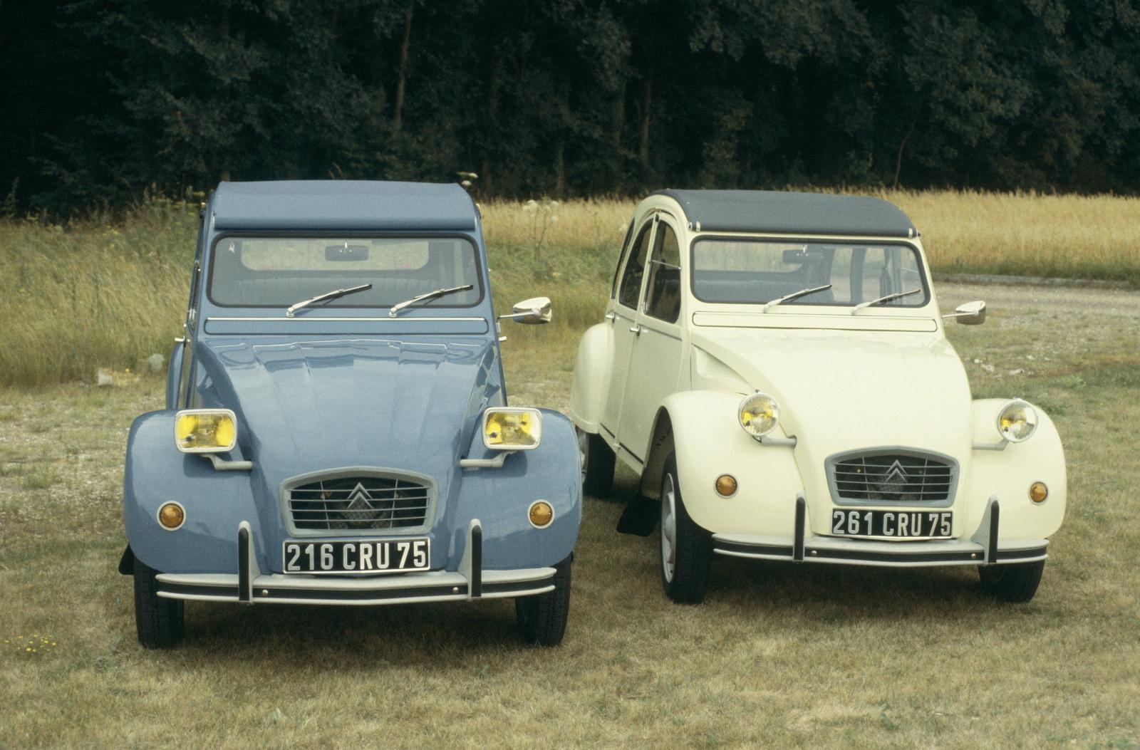 2CV6 Special E et Club 1980