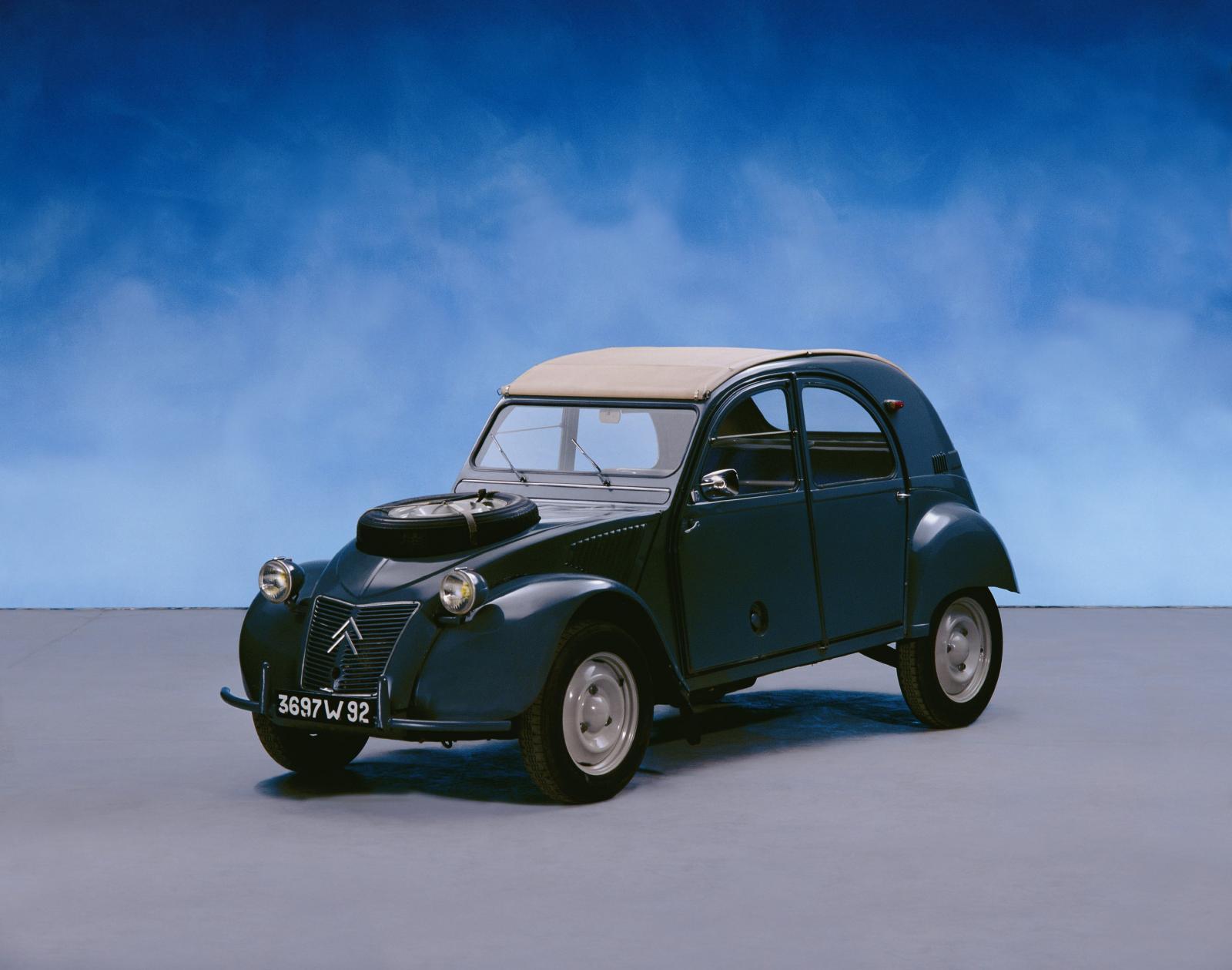 2CV 4x4 Sahara 1960 3/4 AV