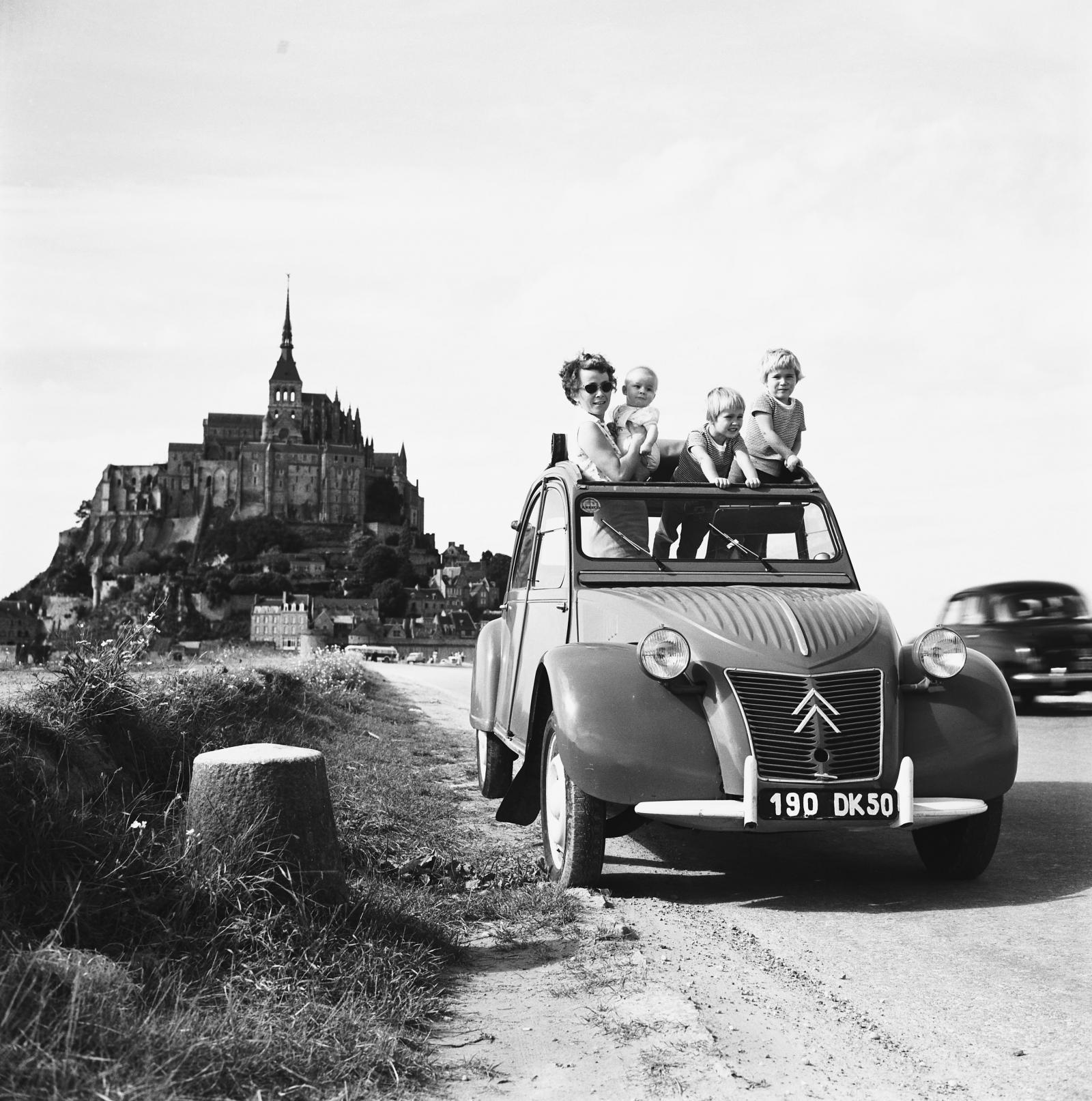 2CV AZ 1955
