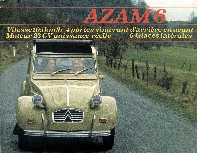 2CV AZAM6 (Belgique)