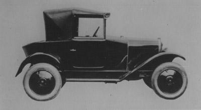 5 HP Cabriolet de 1926