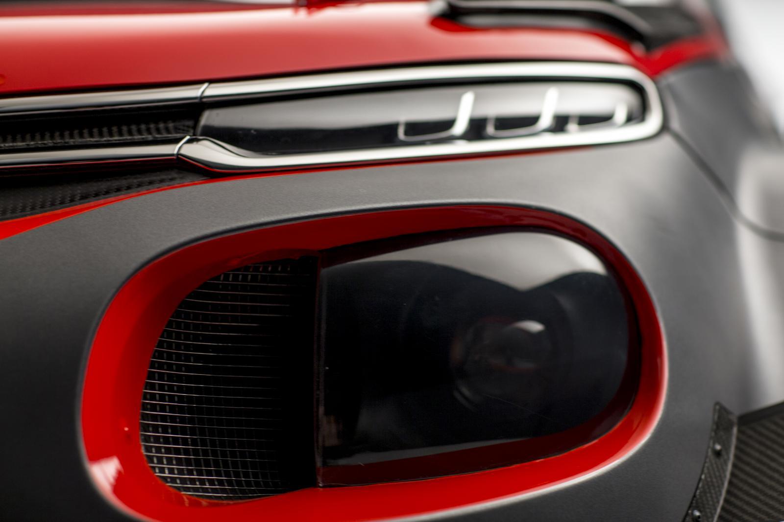 C3 WRC - ヘッドライト