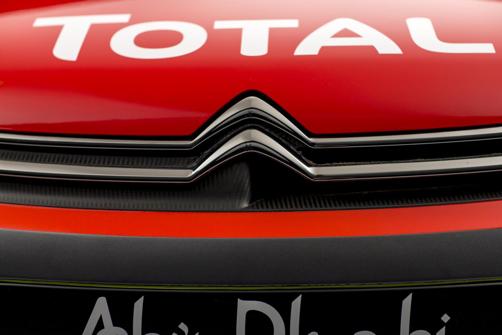 C3 WRC - フロントグリル