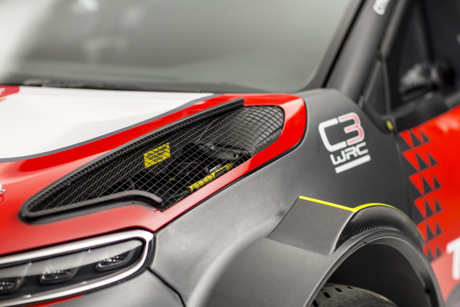 C3 WRC - アエロダイナミックデバイス