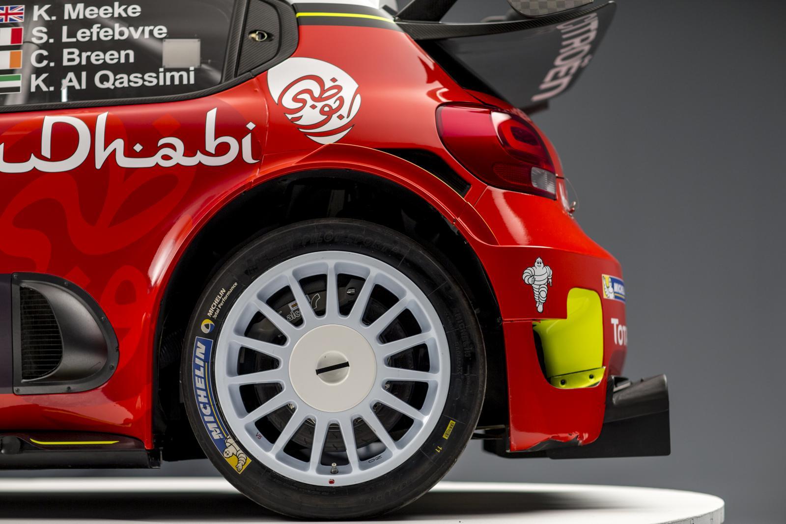 C3 WRC - 後方側面