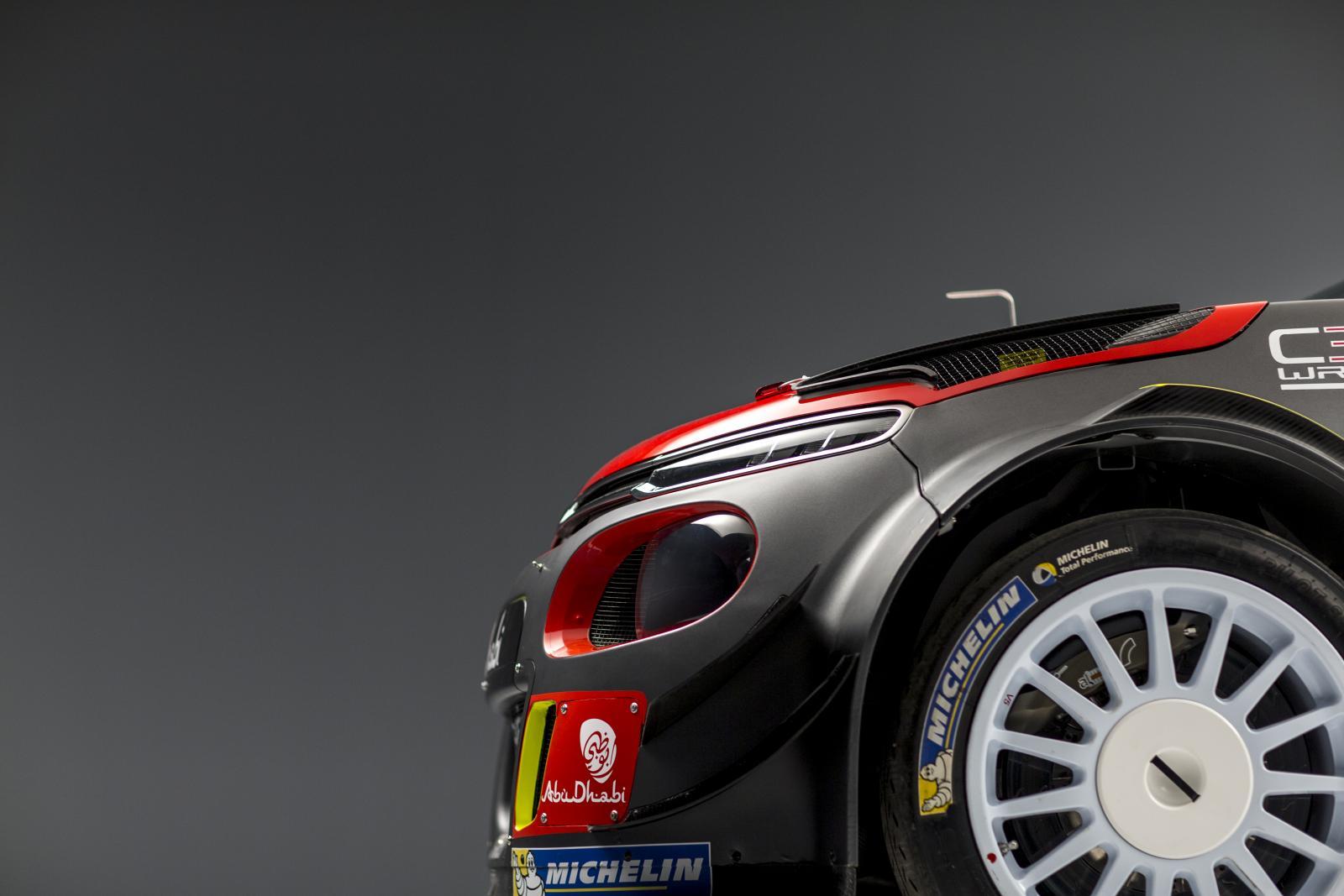 C3 WRC - 前方側面