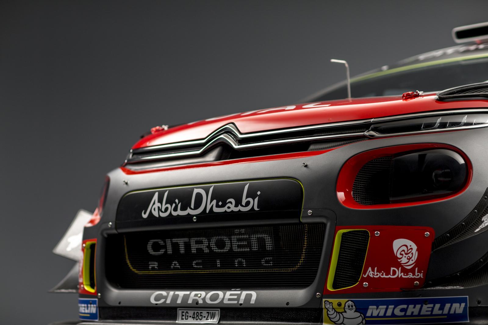 C3 WRC - 3/4 前方