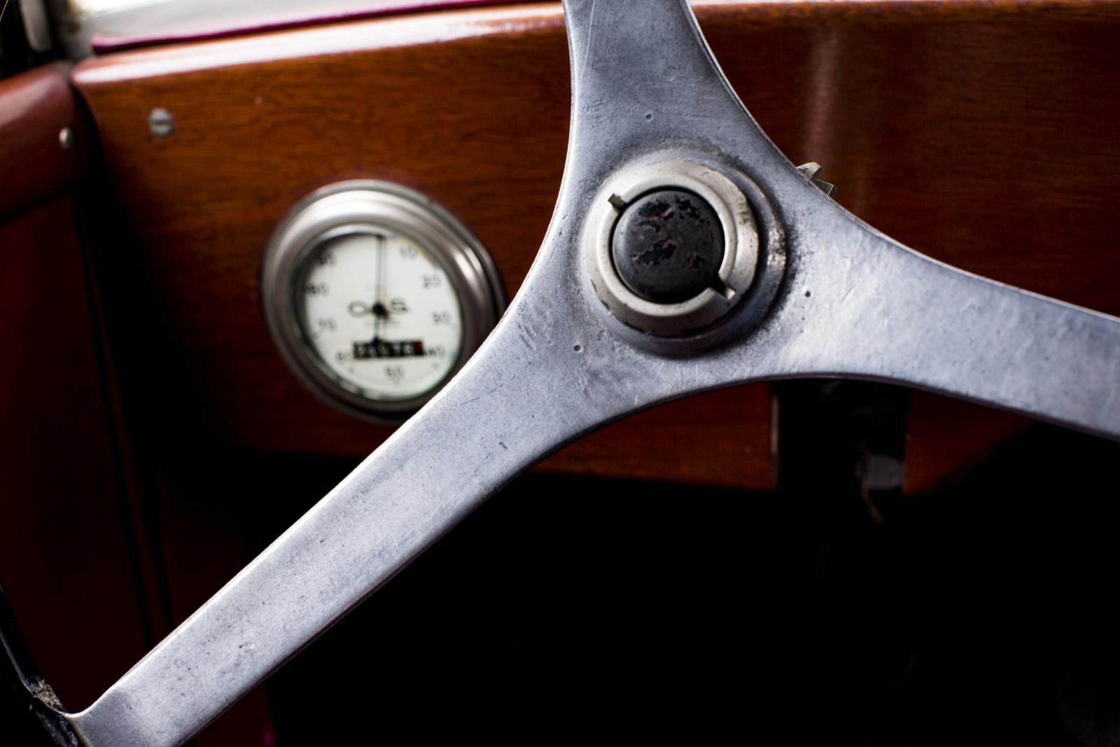 5 HP - détail volant