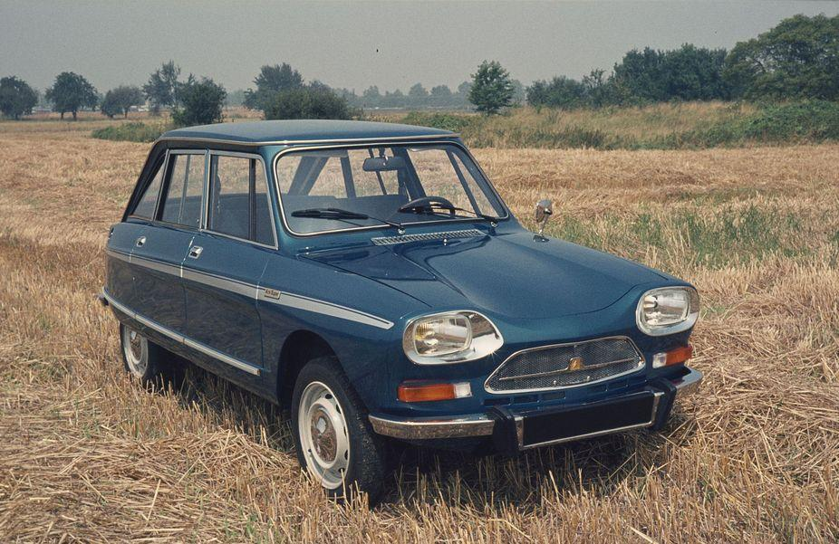 Ami Super Berline 1974 autre dérivé plus puissant de l'Ami 8 après la M35