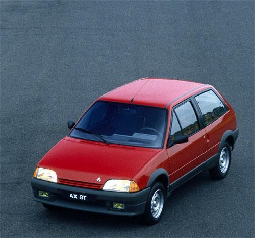 AX GT 3 portes de 1988