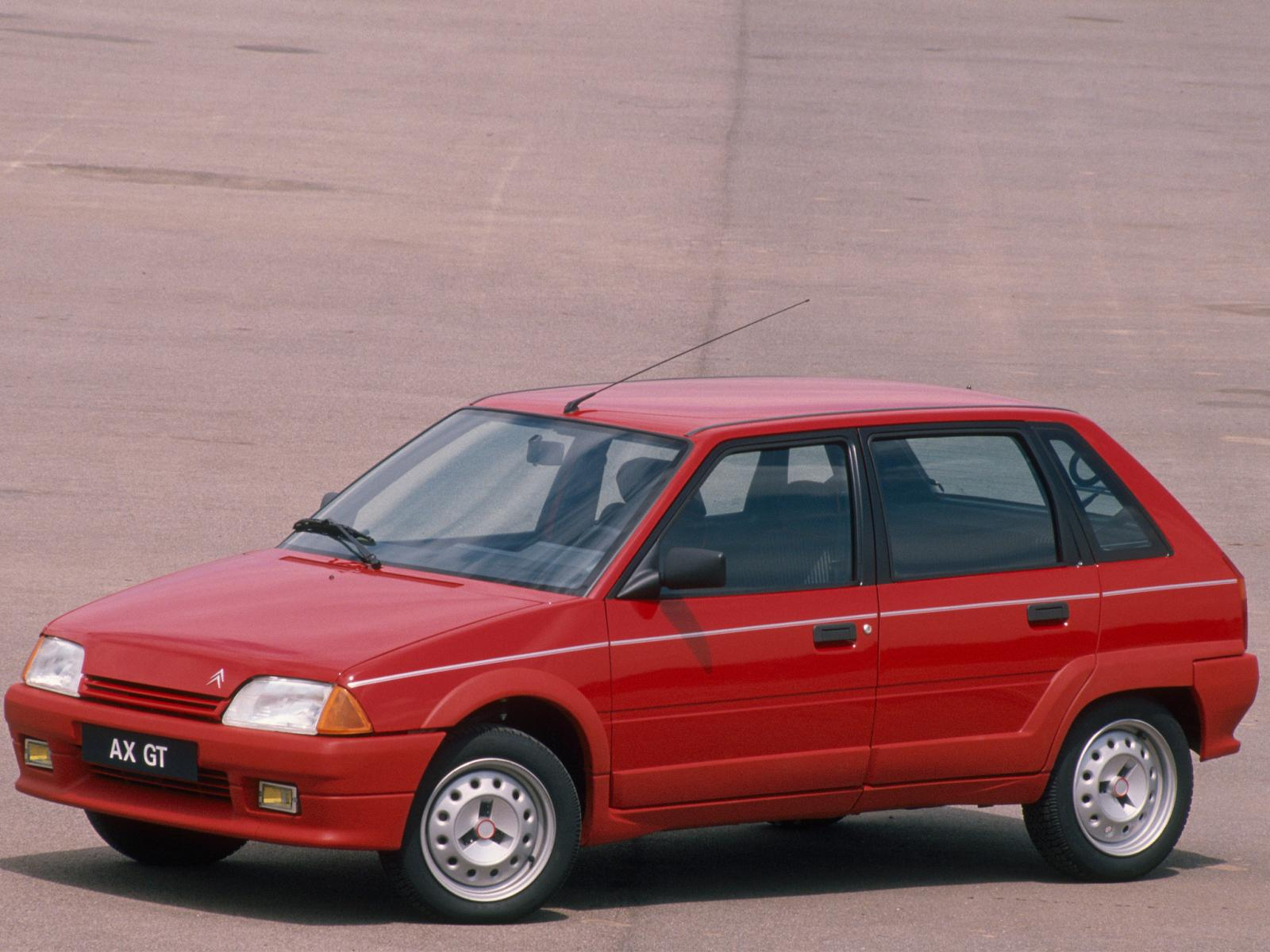 AX GT 5 portes de 1990
