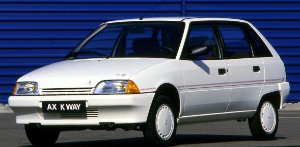 AX K Way 5 Portes de 1990 3/4 avant