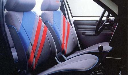 AX K Way 5 portes 1990 intérieur