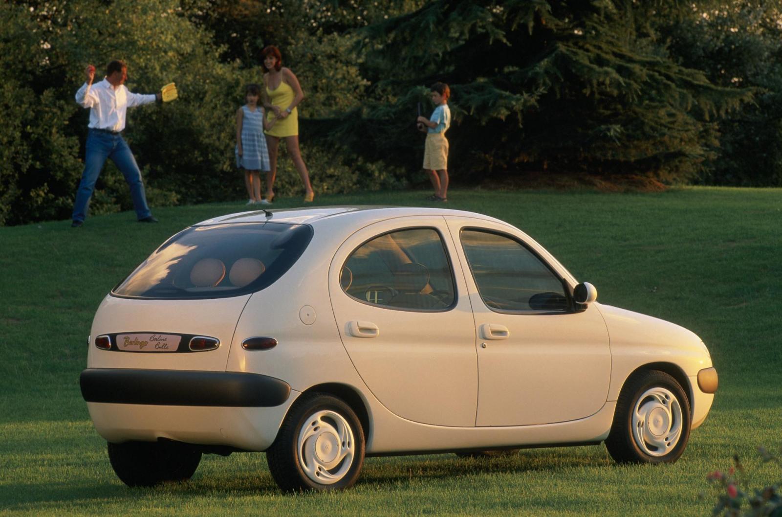 Berlingo Bulle 1996 concept 3/4 arrière