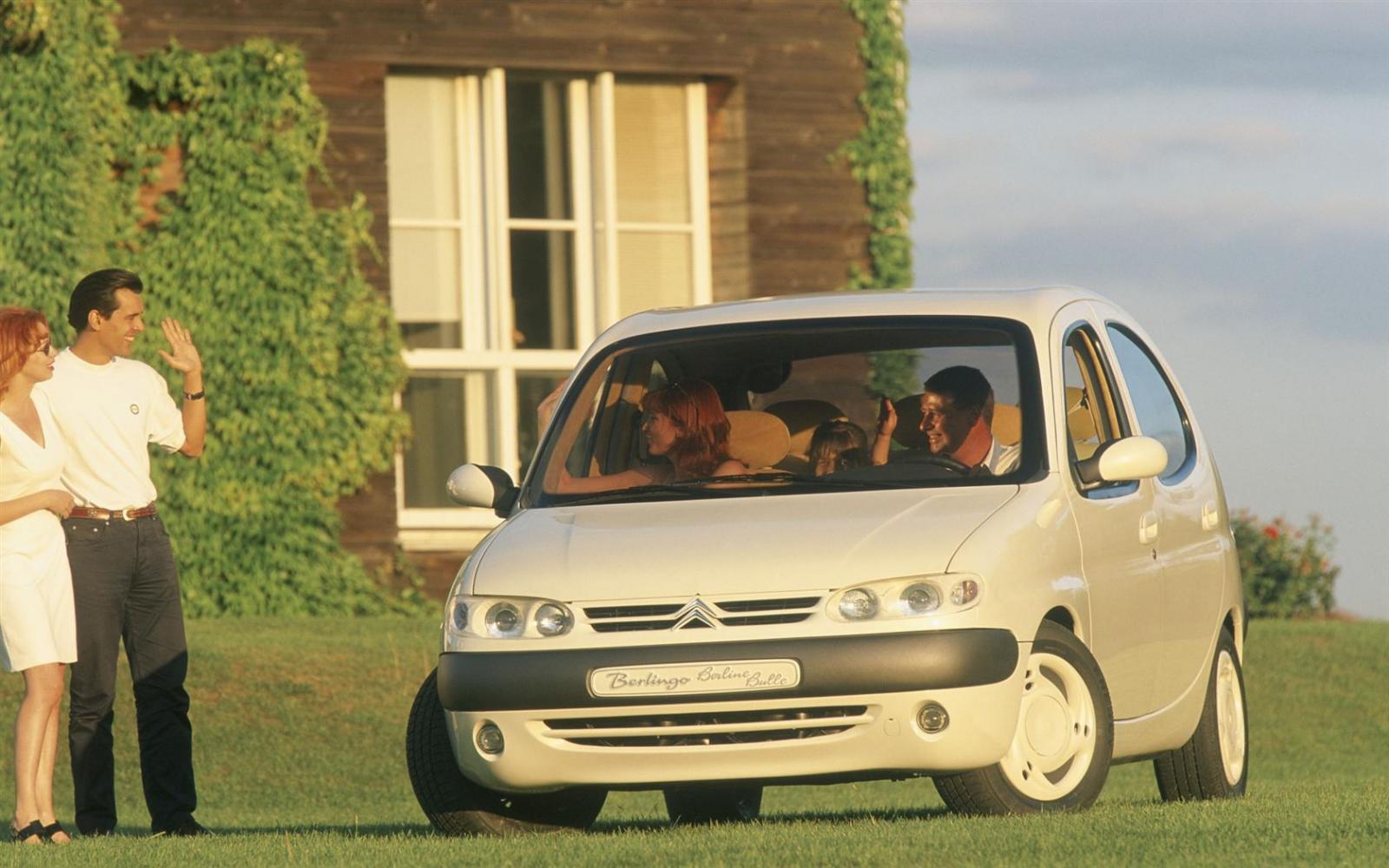 Berlingo Bulle 1996 concept 3/4 avant