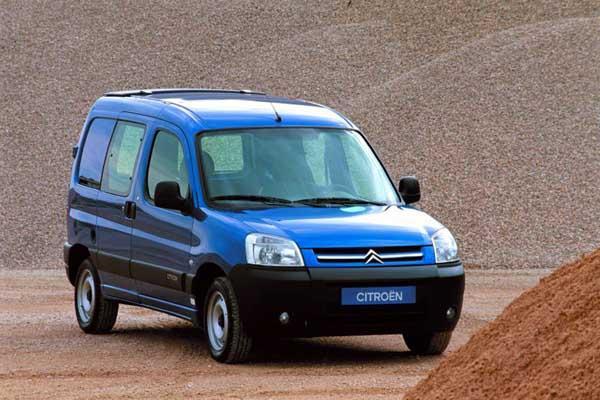 Berlingo VU 2002 précédant le Berlingo 2