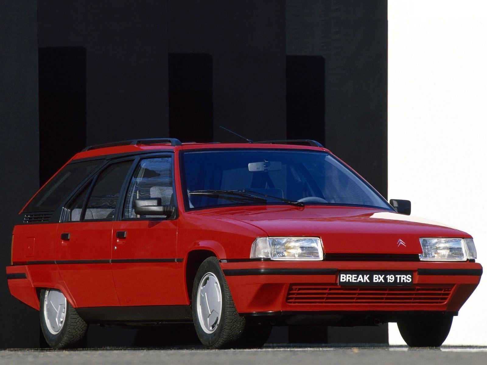 BX 19 TRS Break 1986