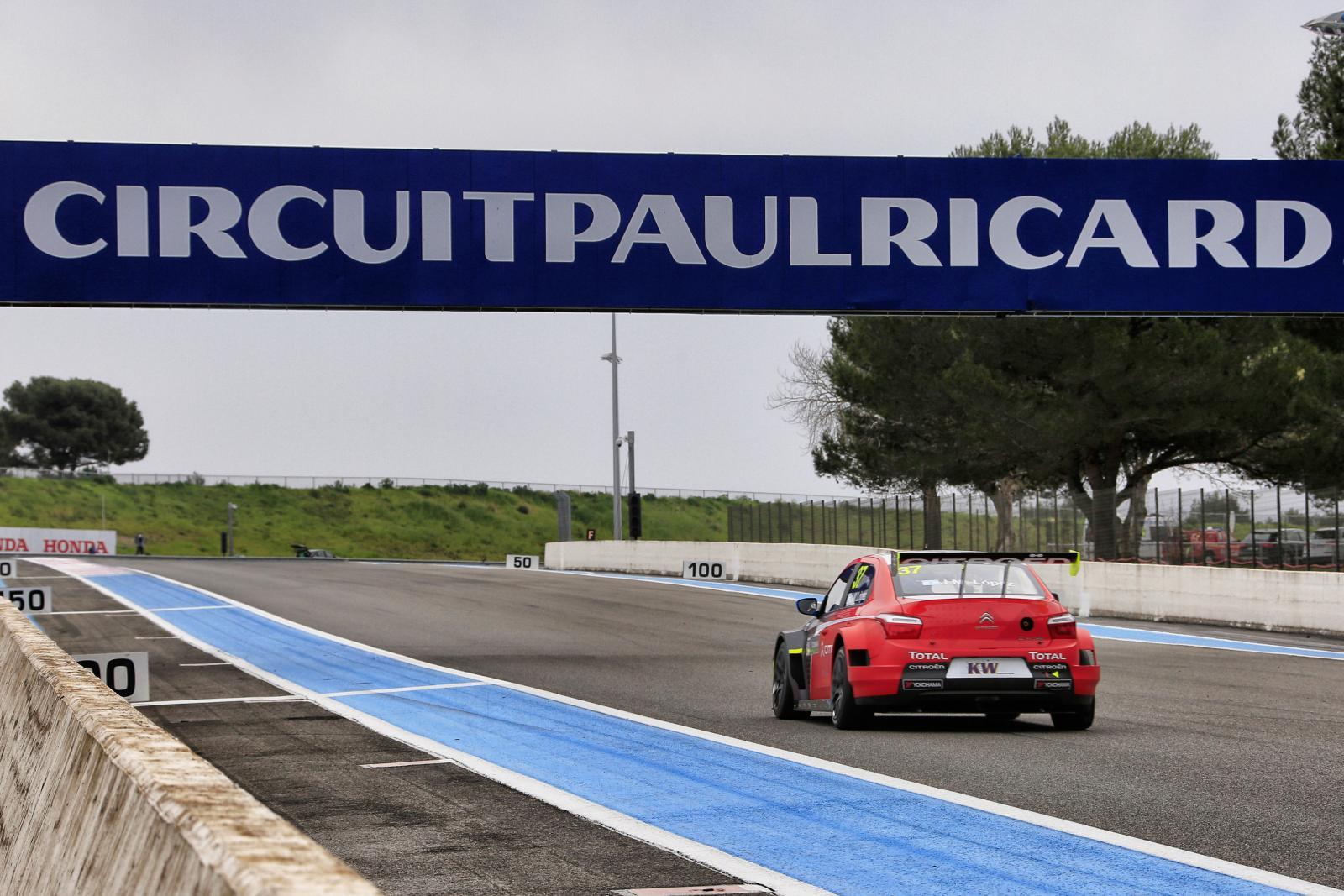 C-Elysée WTCC 2016 Paul Ricard (France)