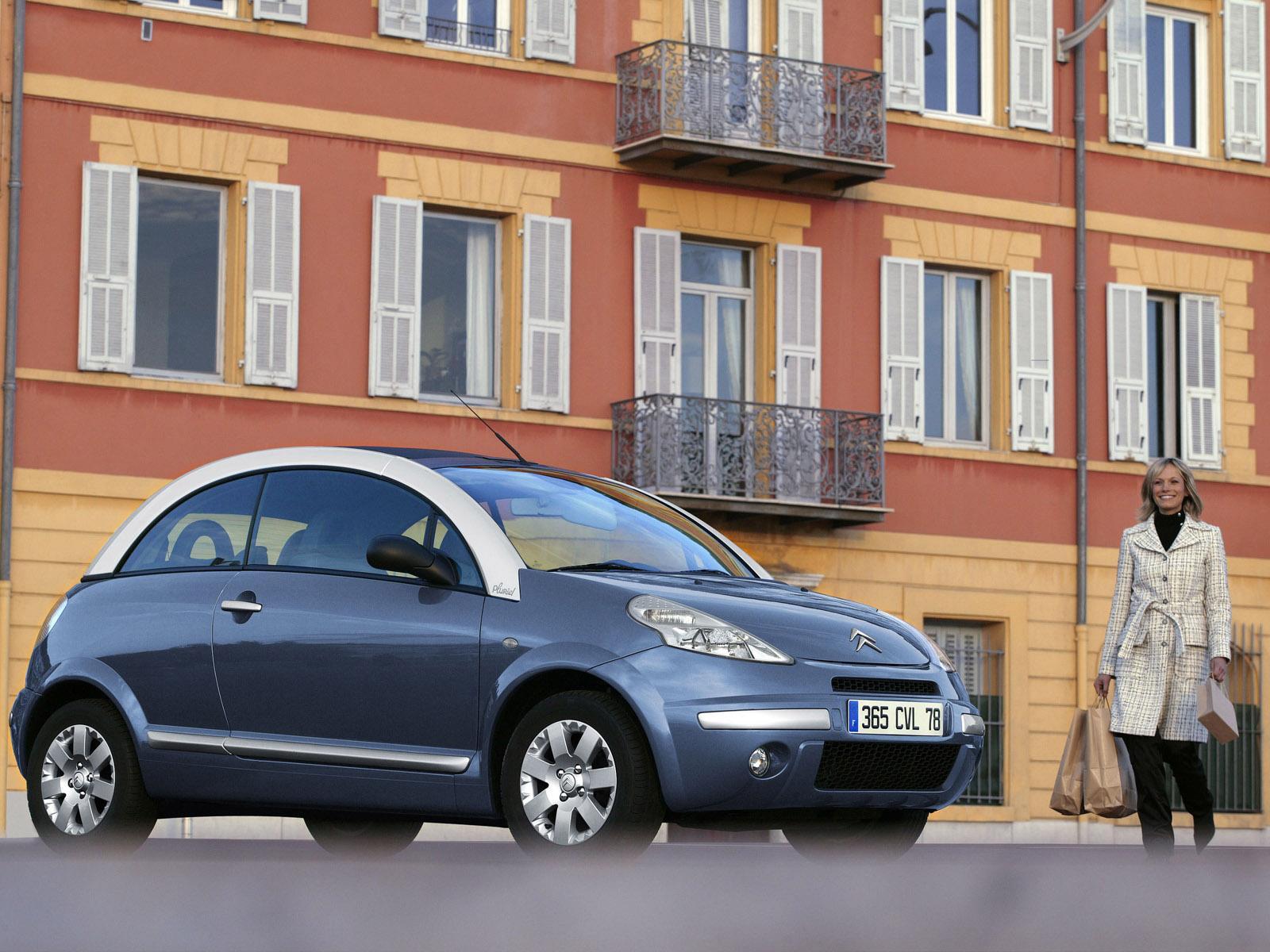C3 Pluriel Pack Alu 2006 Bleu Paname