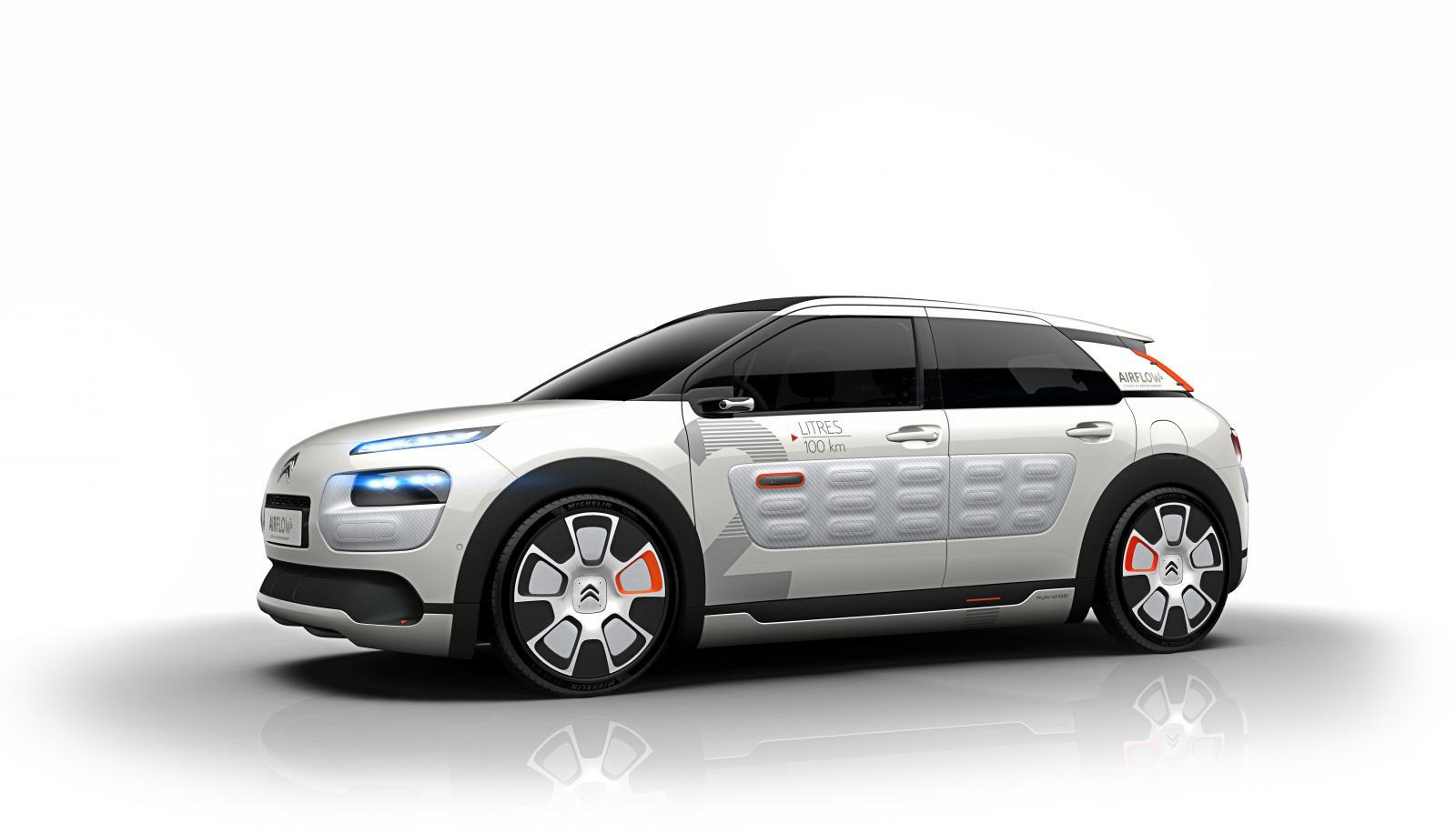 Concept-Car C4 Cactus Airflow 2014 3/4 avant
