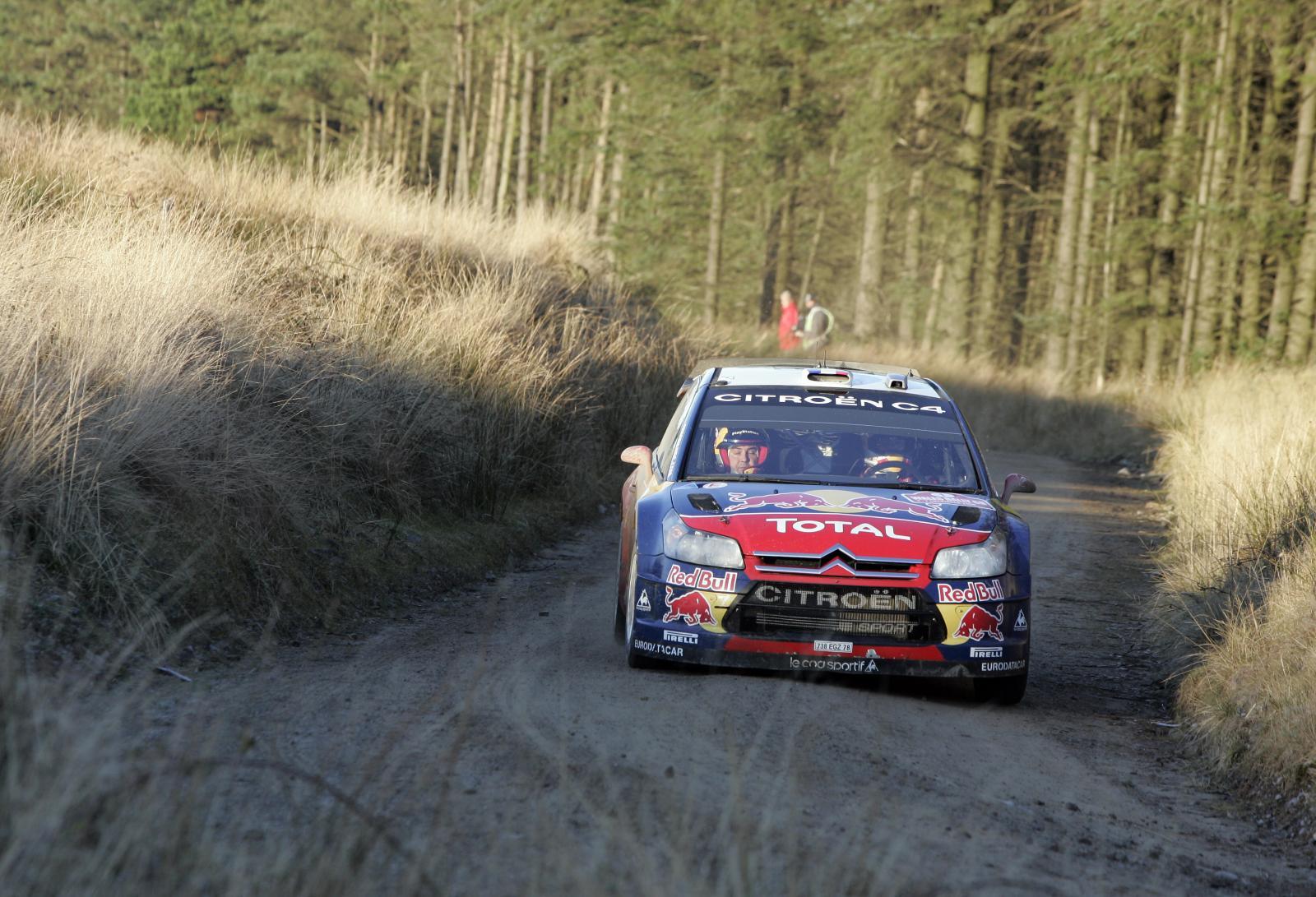 C4 WRC 2008 au Pays de Galles