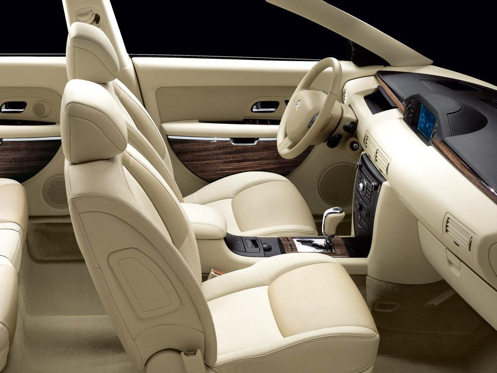 C6 V6 HDI exclusive 2005 intérieur lama