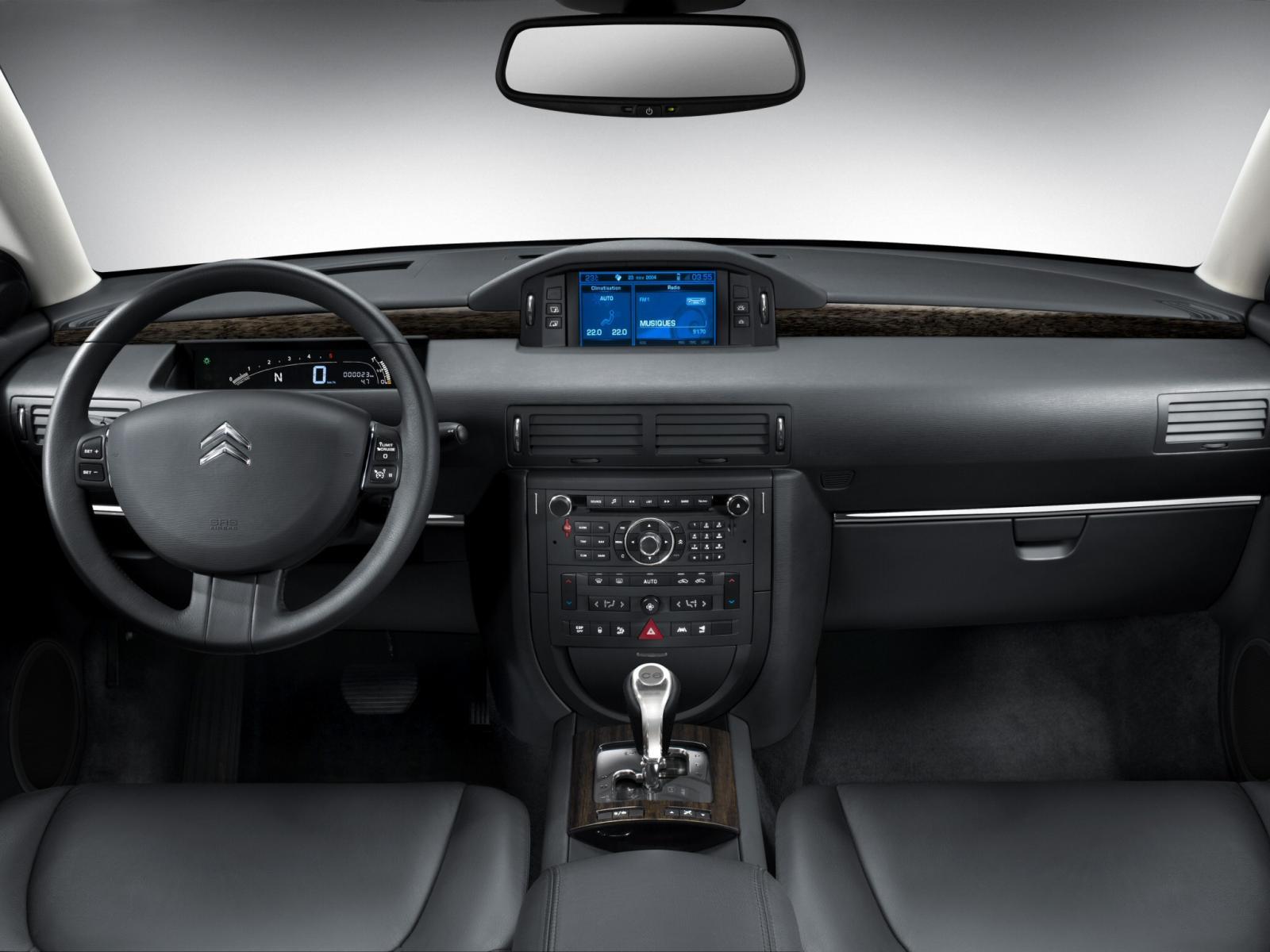 C6 V6 HDI exclusive 2005 planche de bord