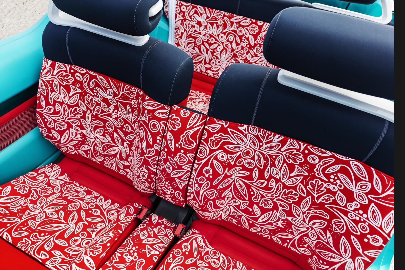 Cactus M 2015 sièges avant
