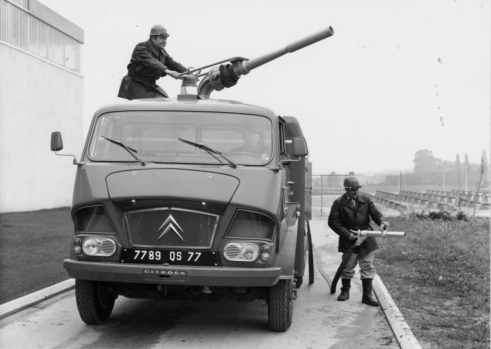 タイプ 350トラック 消防用 - 1967年