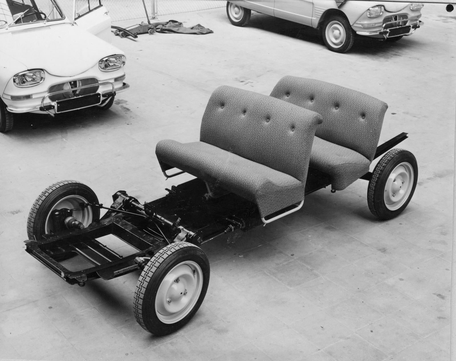 Chassis et sièges Ami 6