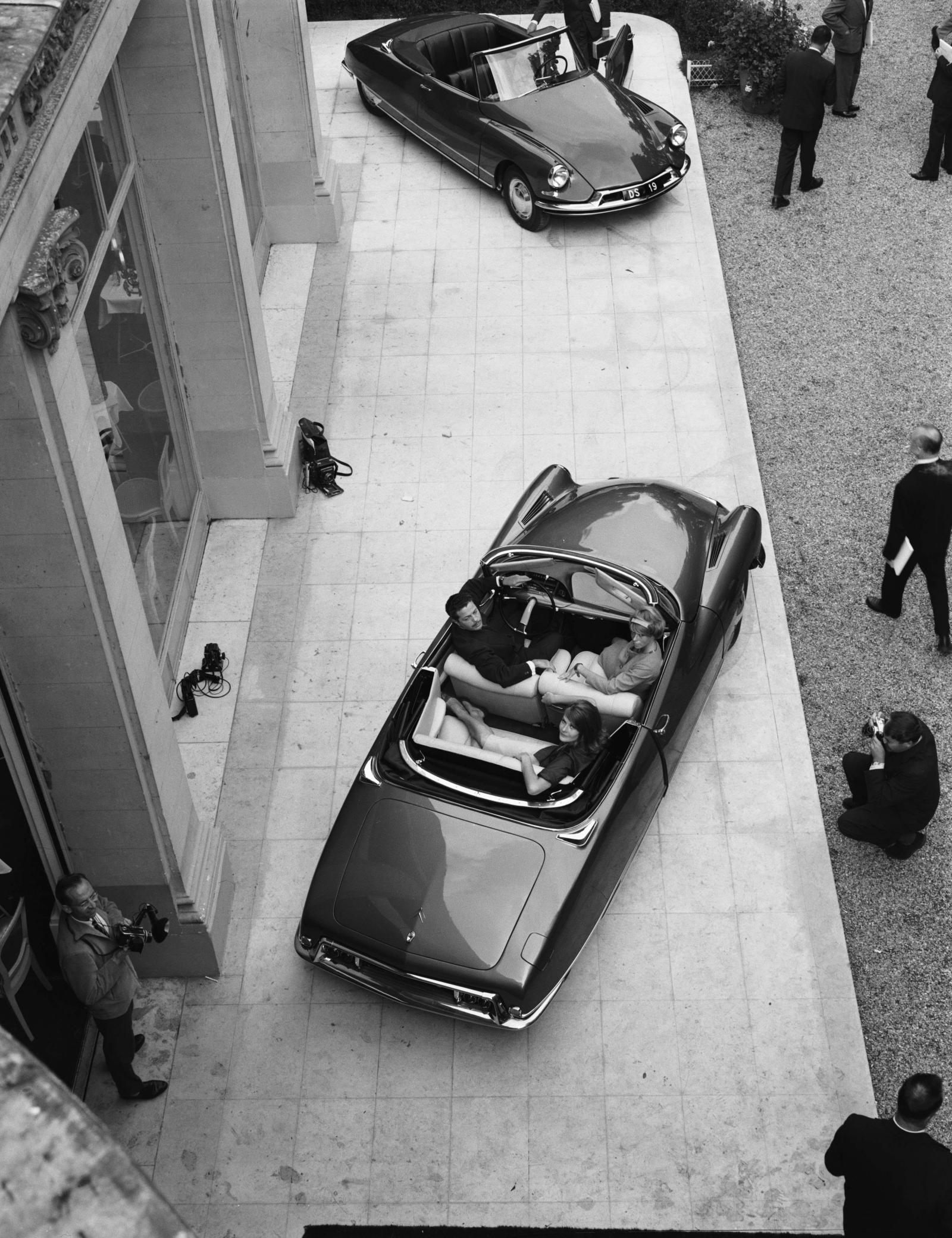シトロエン DS 19 コンバーチブル - プレス発表会 - 1961年