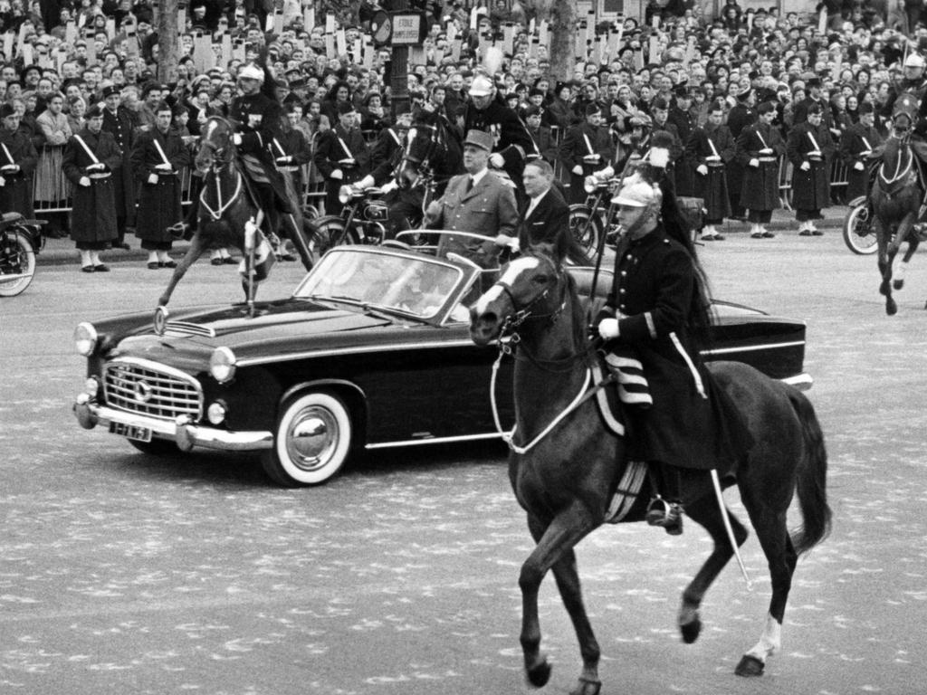 Traction 15 SIX présidentielle par Chapron 1957