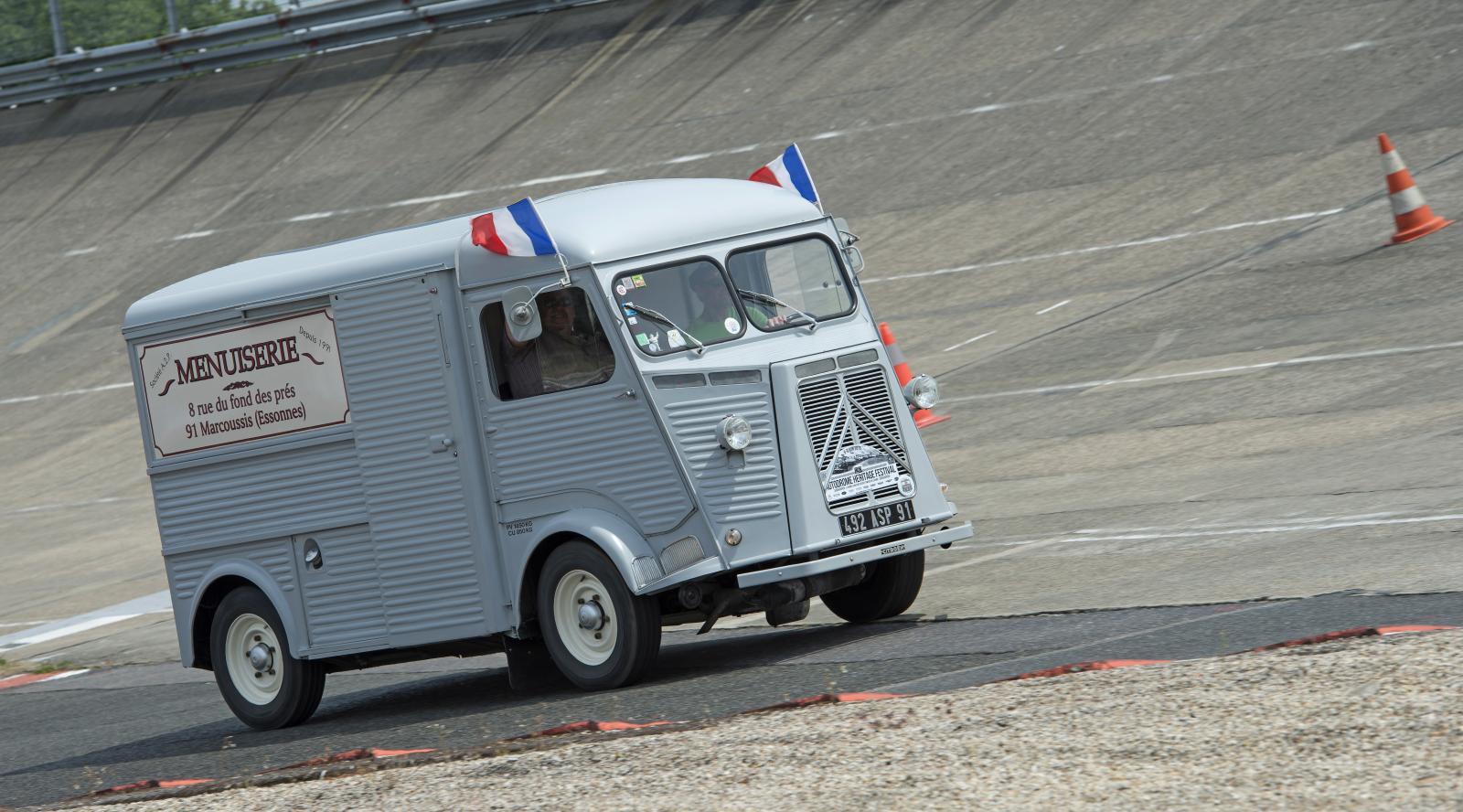 Type H au circuit de Montlhéry