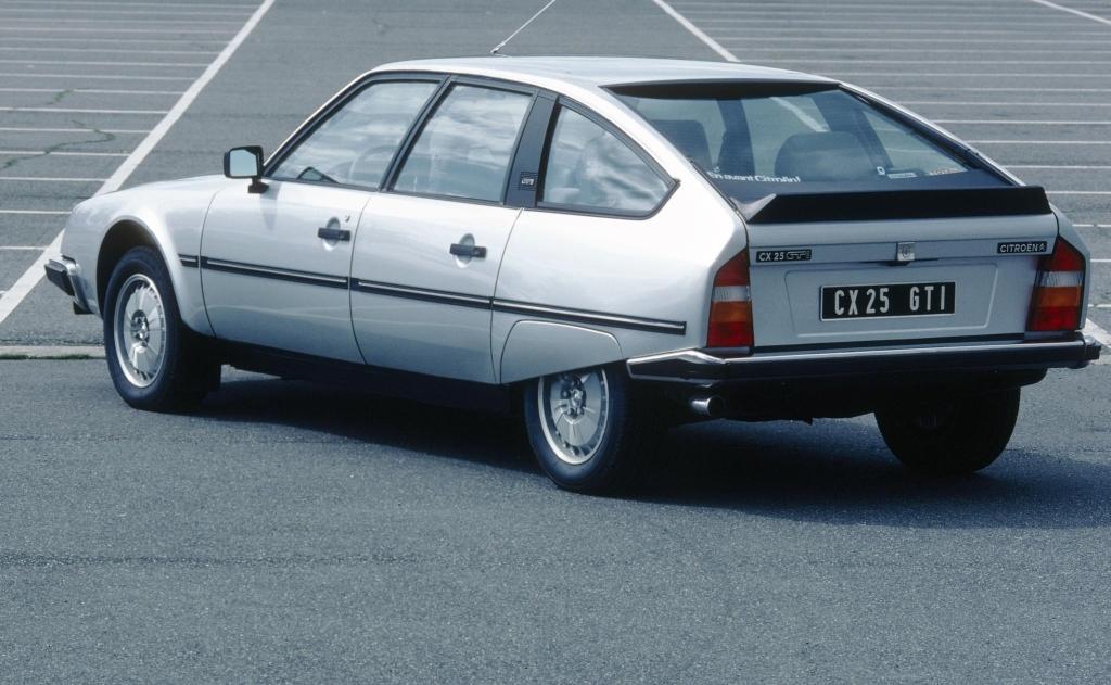 CX 25 Gti 1983 3/4 arrière