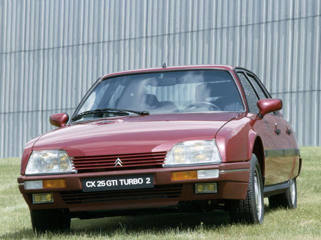 CX 25 GTI TURBO 2 1986 prédécesseur XM