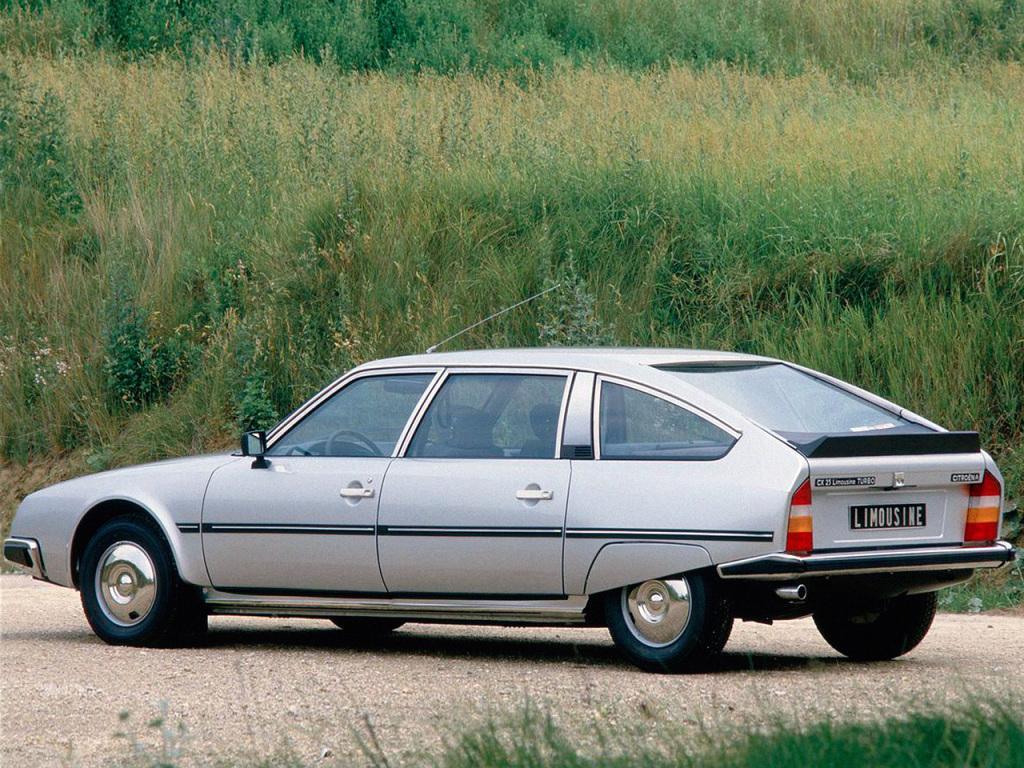 CX 25 Limousine Turbo 1983 3/4 arrière