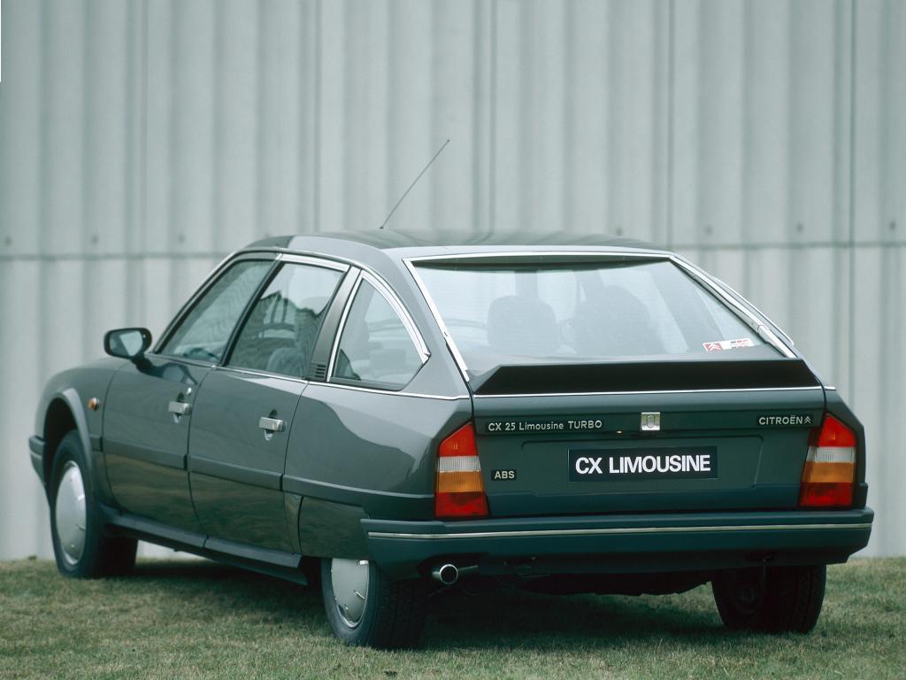 CX 25 Limousine Turbo 2 1986 3/4 arrière