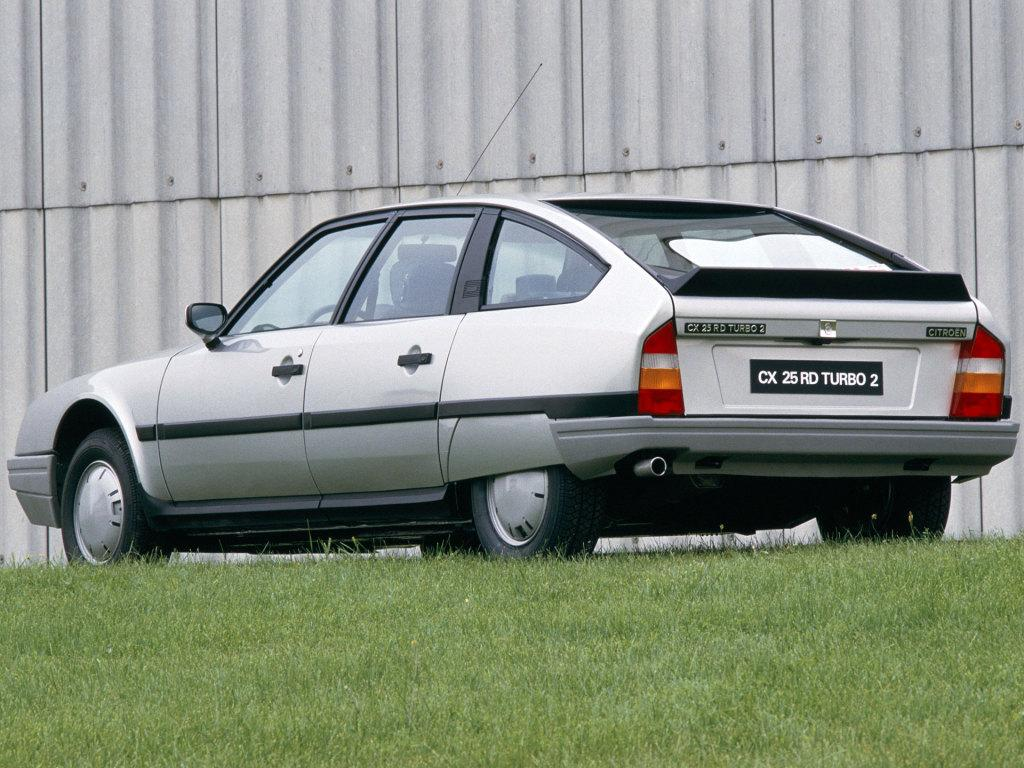 CX 25 RD Turbo 2 1986 3/4 arrière