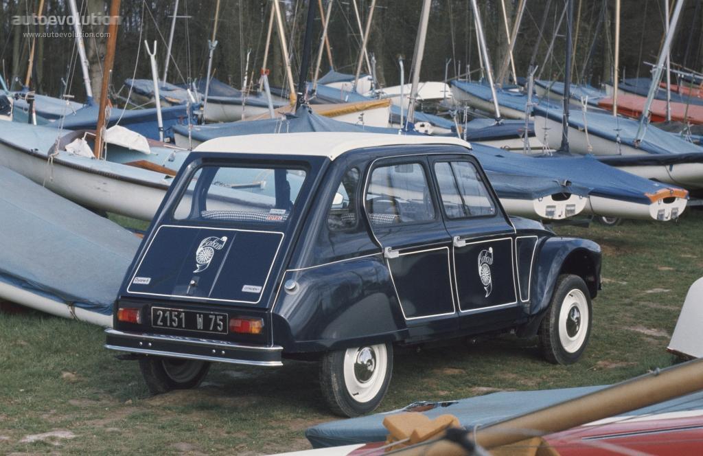 Dyane 6 1977 3/4 arrière