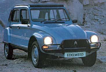 Dyane 6 Edelweiss 1981