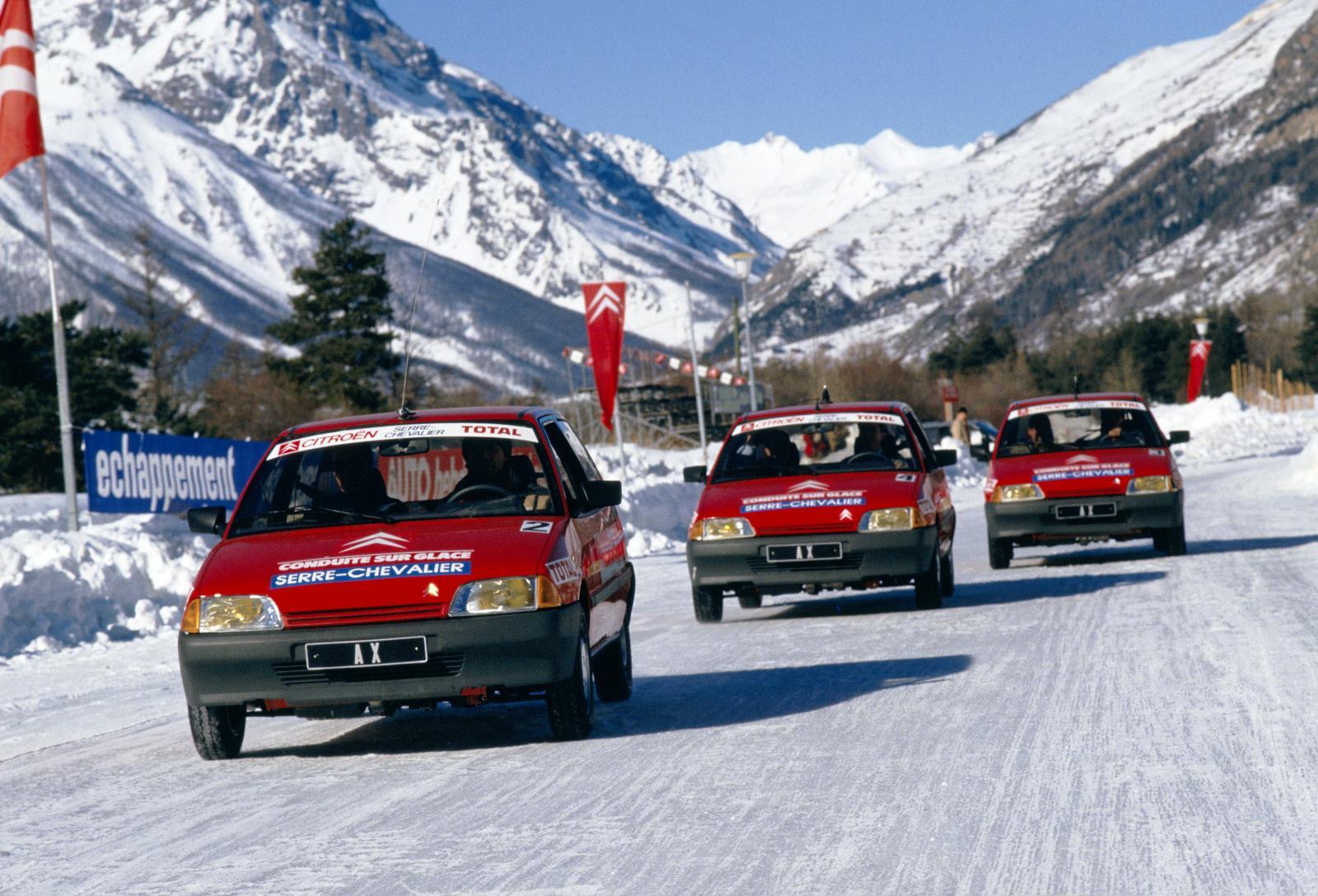 AX Conduite sur glace 1987