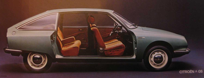 GS 1220 Club 1973 portes retirées