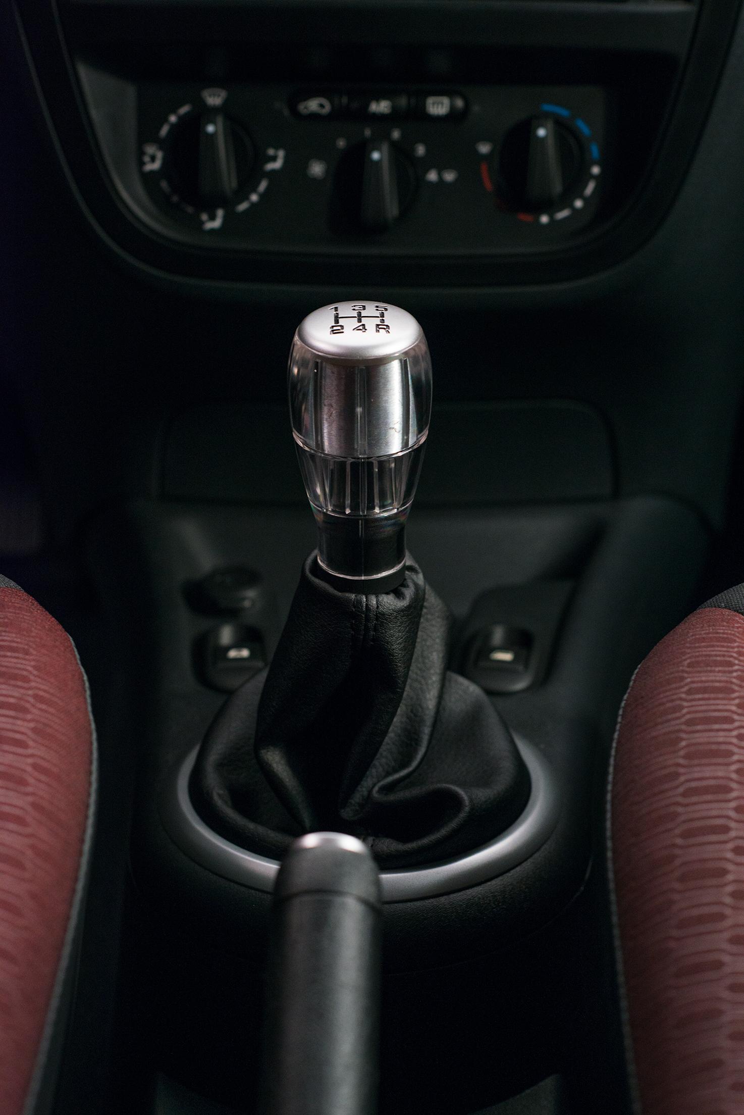 Intérieur C3 levier de vitesse