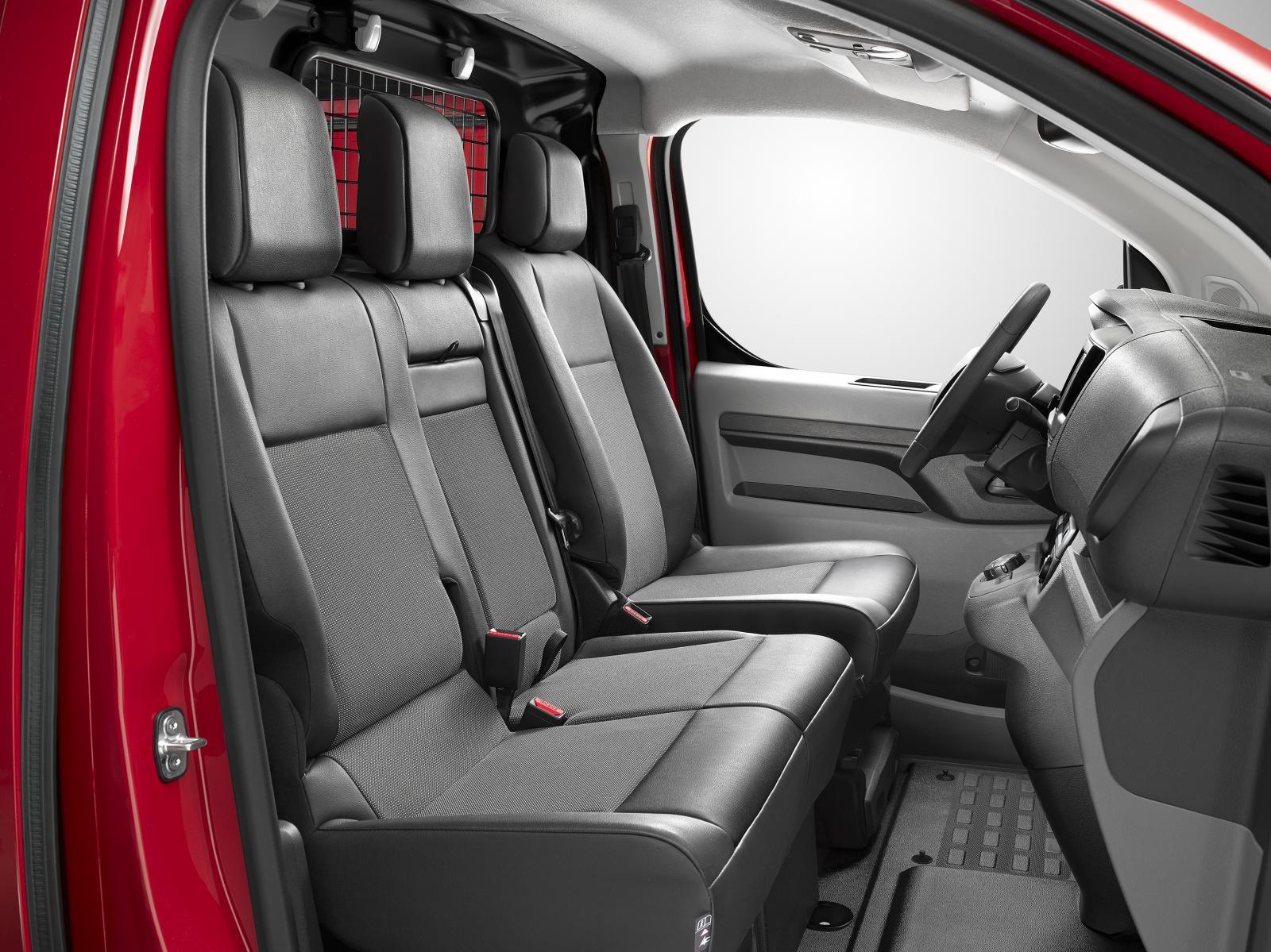Jumpy 3ème génération 2016 sièges cabine
