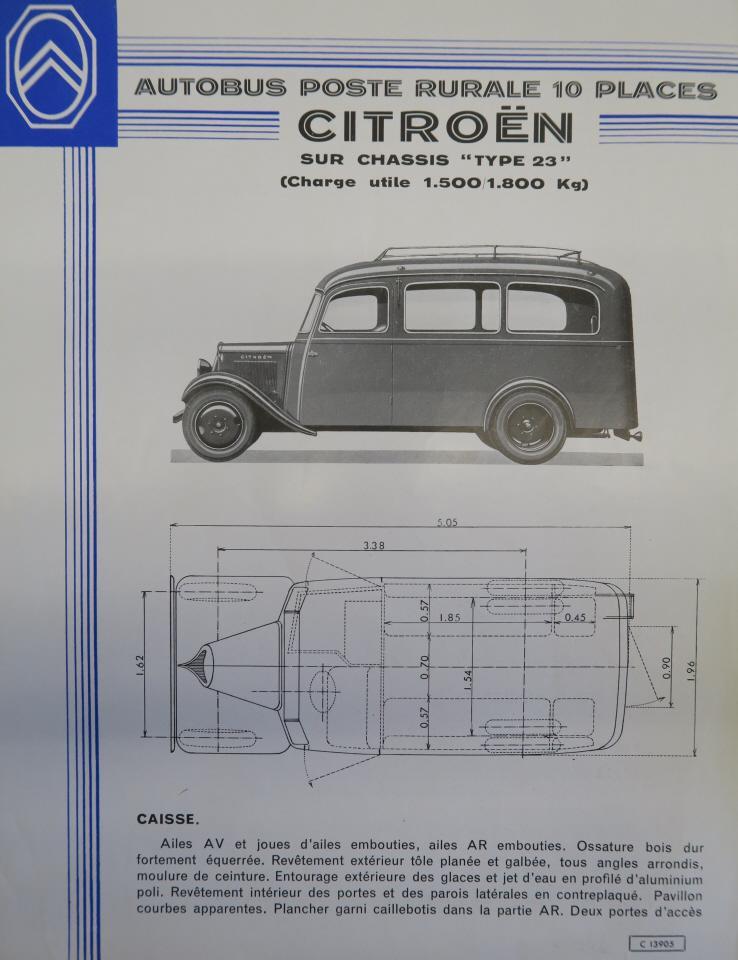 Autobus Citroën Type 23