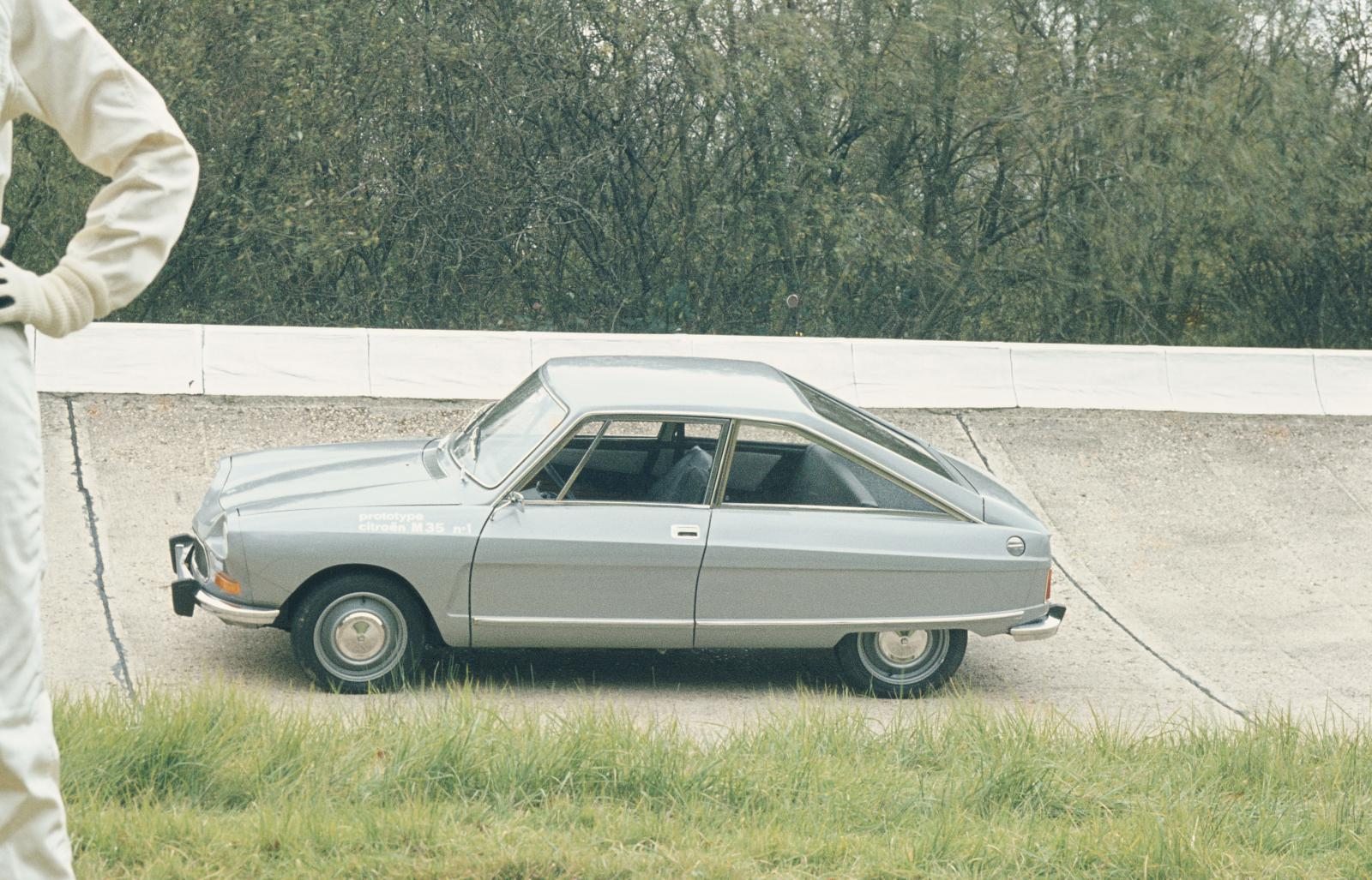 M35 1969 shooting profil