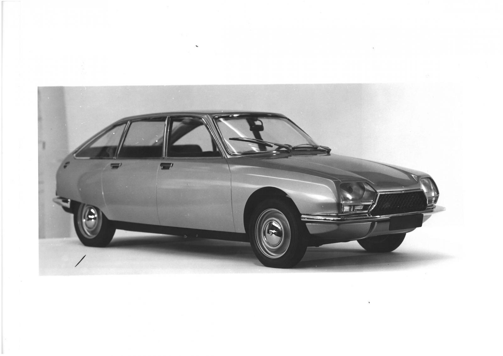 maquette de GS Birotor 1973