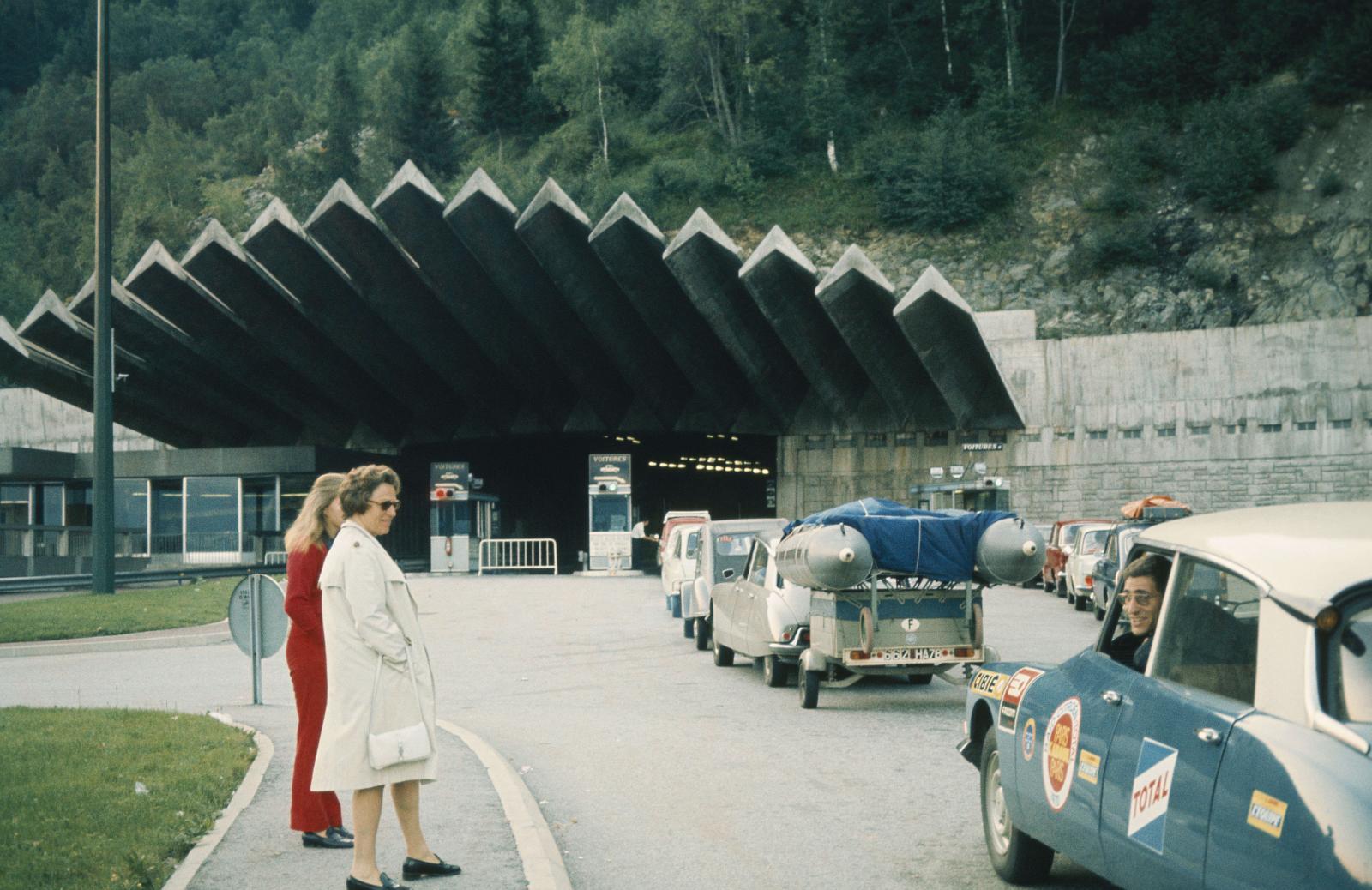 モロッコ・ラリー - トンネル - DS - 1970年
